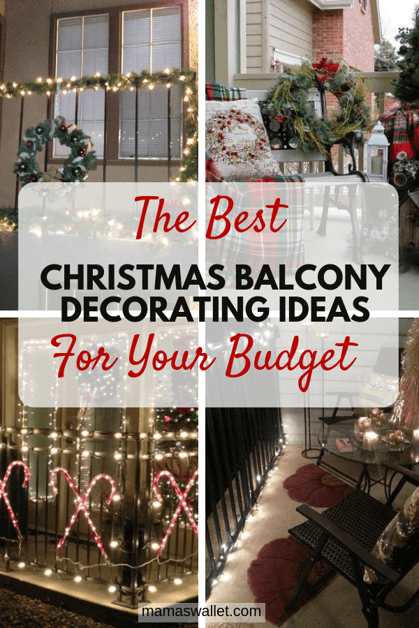 The Best Christmas Balcony Decorating Ideas For Your Budget ...